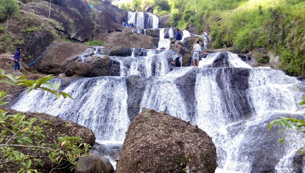 Dolan Air Terjun Kedung Kandang Gunung Kidul Yogyakarta Alurnya Jalan