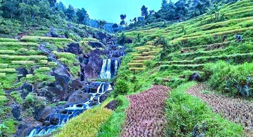 Eksotis Air Terjun Kedung Kandang Gunung Nglanggeran Tips Wisata Kab