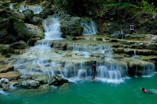 Indahnya Air Terjun Gunungkidul Sri Gethuk Travel Kedung Kandang Kab