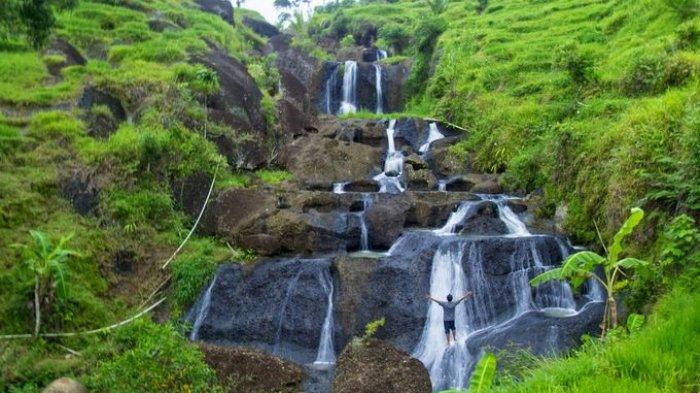 Kedung Kandang Air Terjun Tersembunyi Gunung Kidul Sriwijaya Post Kab