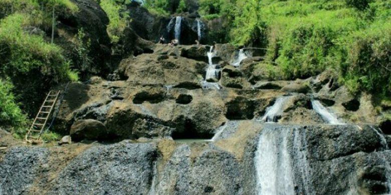 Kedung Kandang Air Terjun Tersembunyi Gunungkidul Kompas Nama Sungai Sekaligus
