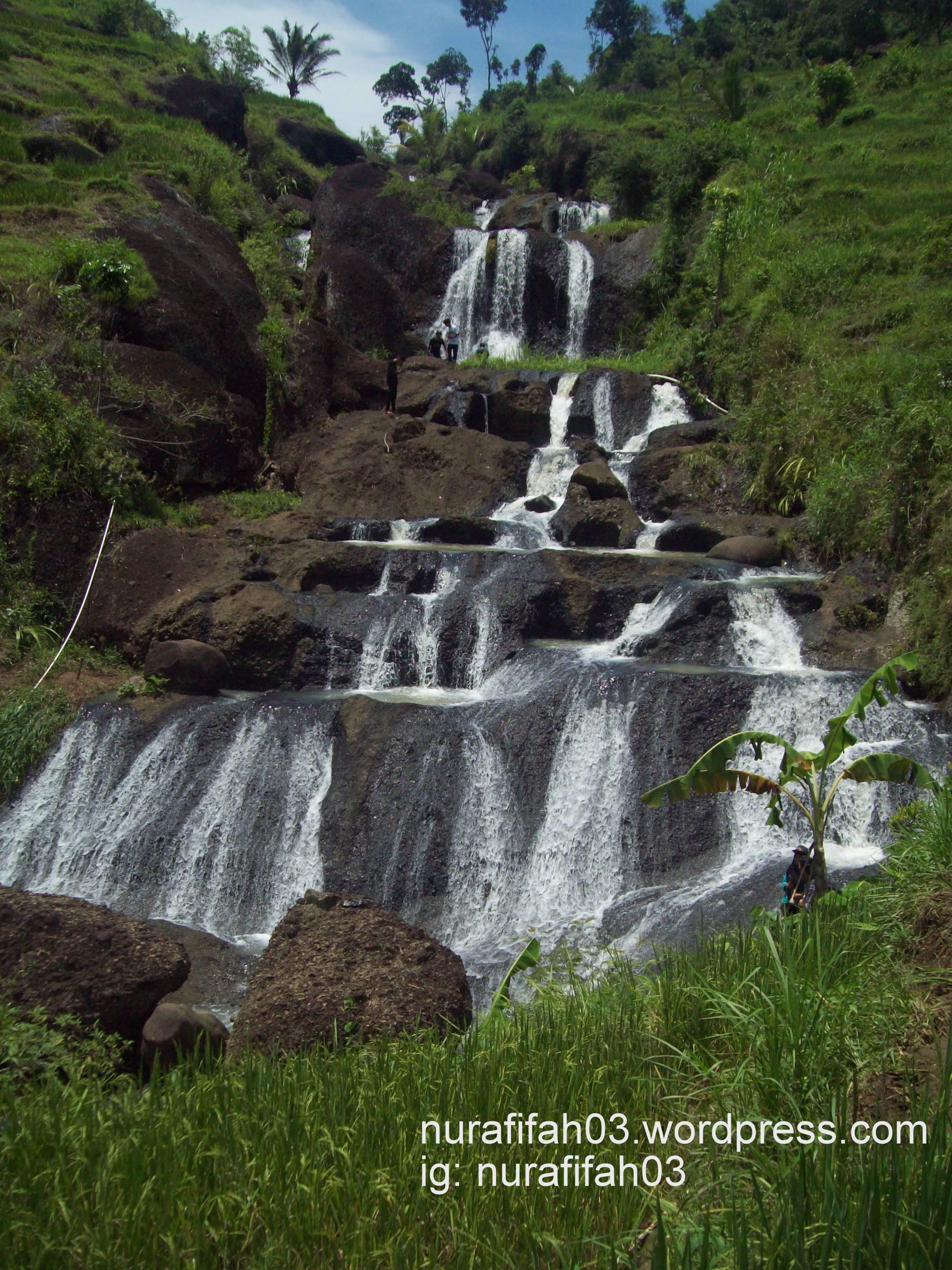 Kedung Kandang Gunung Kidul Notasi Air Terjun Cantik Bukan Kab