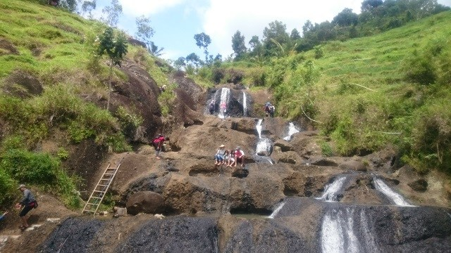 Lokasi Air Terjun Kedung Kandang Nglanggeran Patuk Gunungkidul Wisata Kab