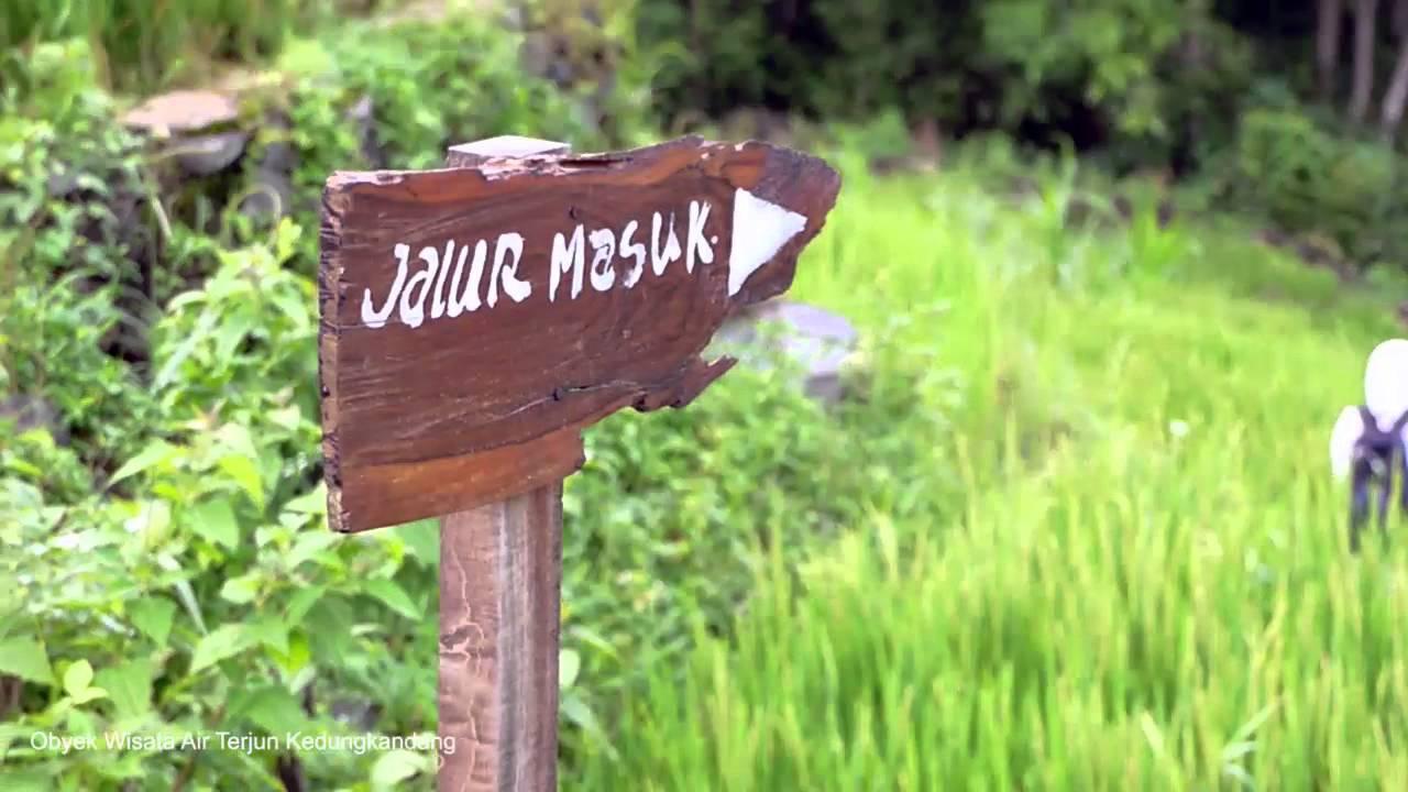 Obyek Wisata Air Terjun Kedungkandang Gunung Api Purba Nglanggeran Youtube