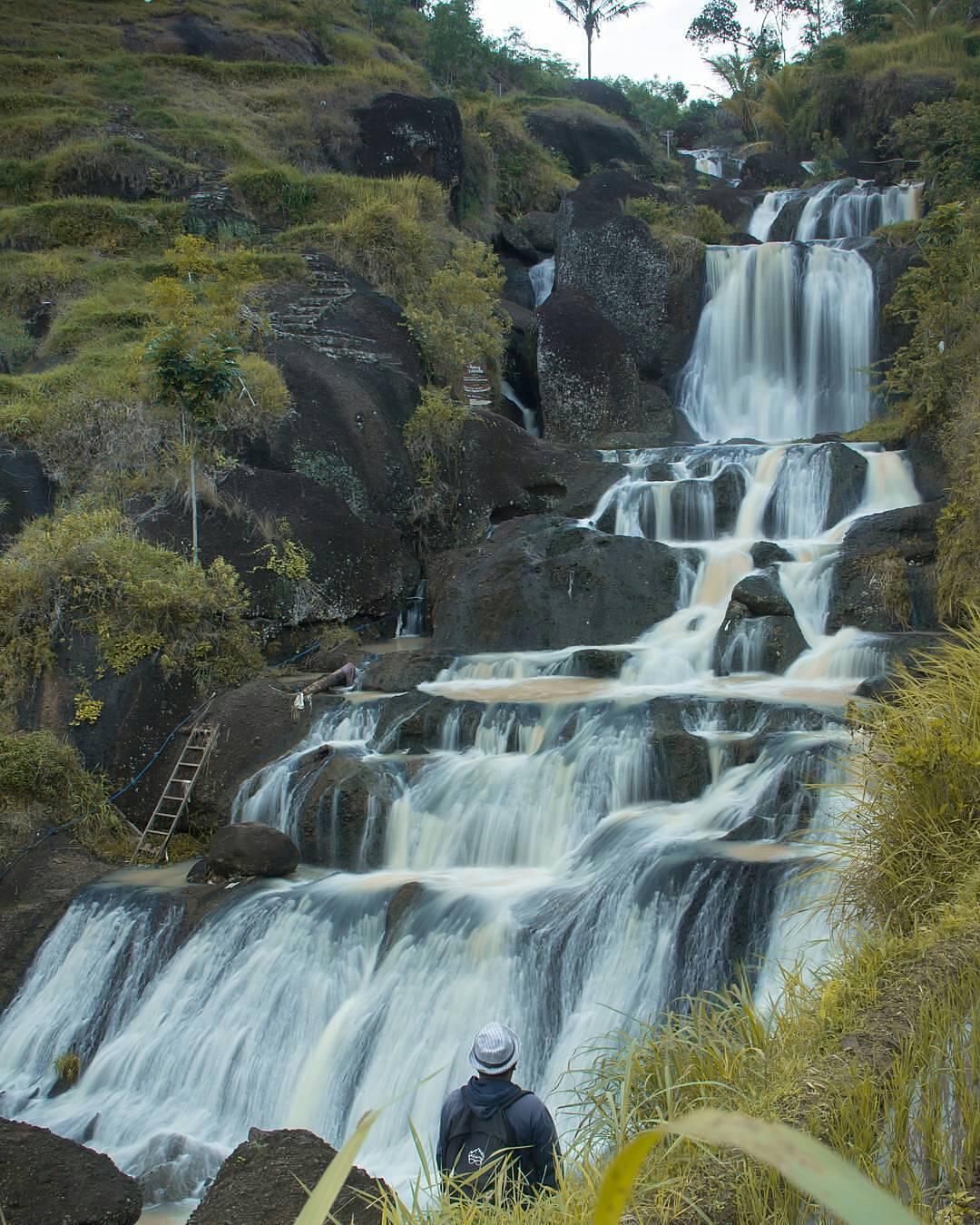 Pesona Air Terjun Kedung Kandang Kab Gunungkidul