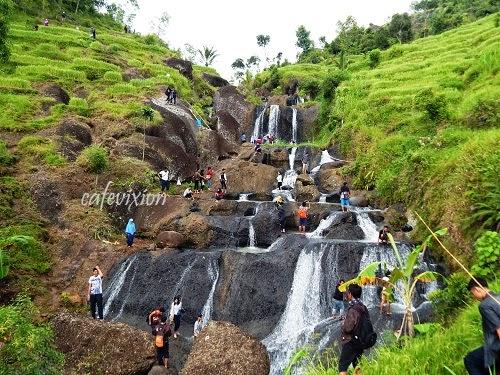 Pesona Air Terjun Kedung Kandang Nglanggeran Hanifdn Terletak Dusun Gunungbutak