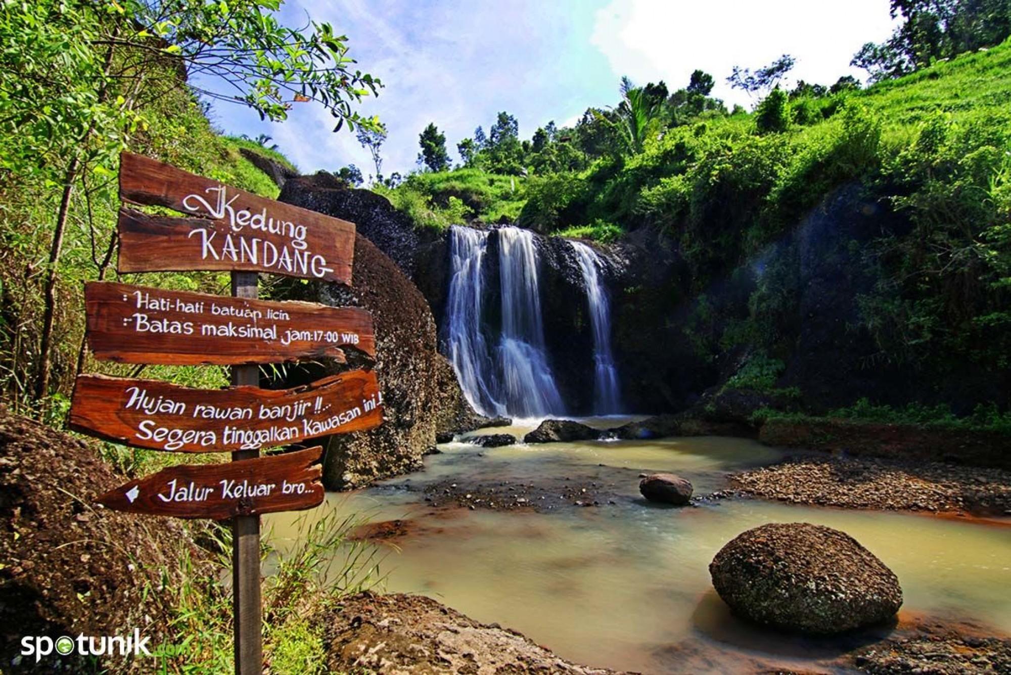 Tips Wisata Kedung Kandang Menawan Air Terjun Kab Gunungkidul