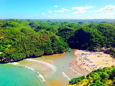 10 Gambar Pantai Baron Jogja Wonosari Tiket Masuk Lokasi Wisata