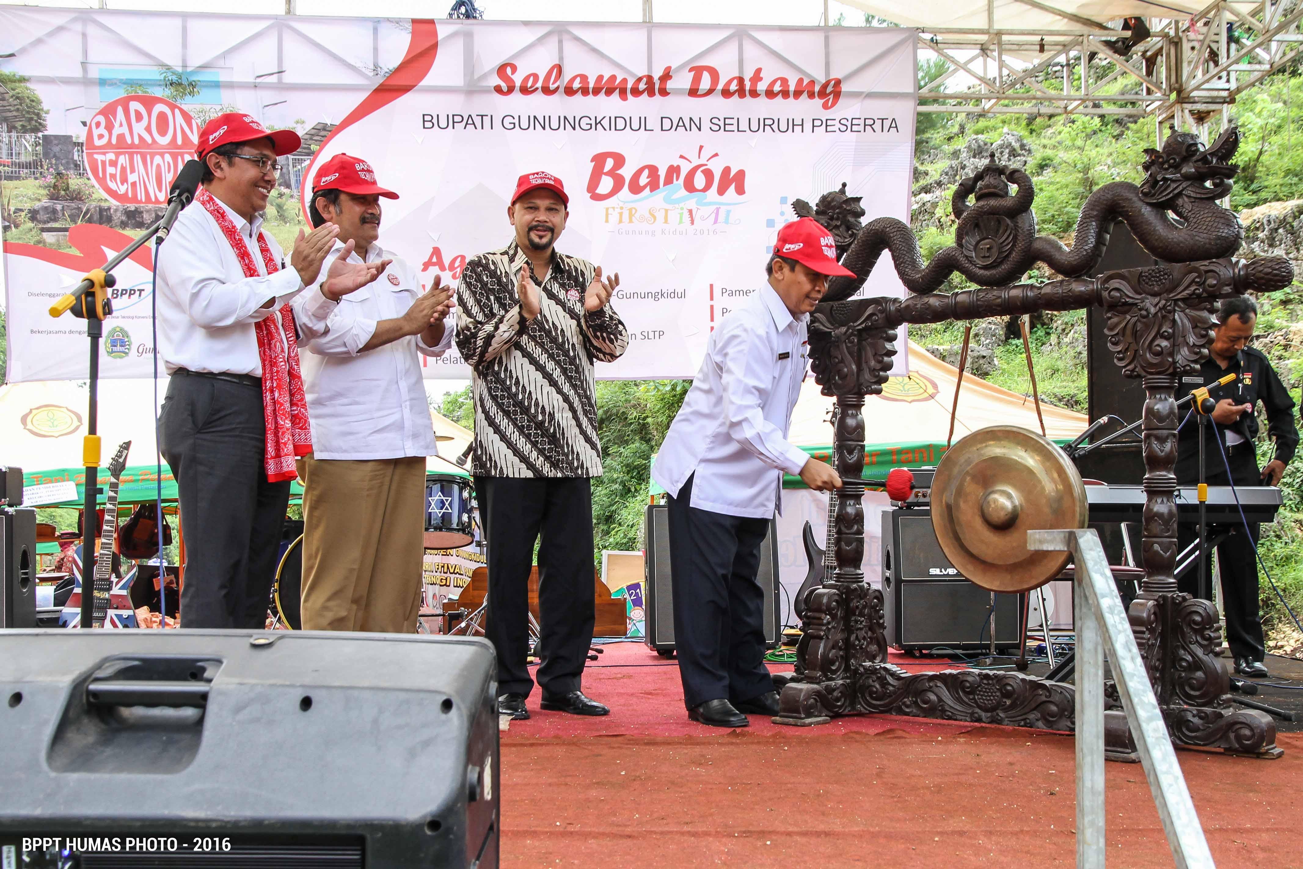 Baron Festival Inovasi Budaya Gunungkidul Negeri Pantai Salah Satu Obyek