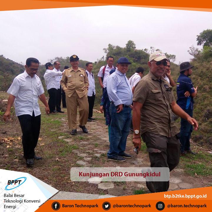 Kunjungan Tim Dewan Riset Daerah Dinas Terkait Kabupaten Gunung Kidul
