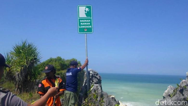 Longsor Pantai Ngungap Gunungkidul Ditutup Kunjungan Tebing Baron Technopark Gunung