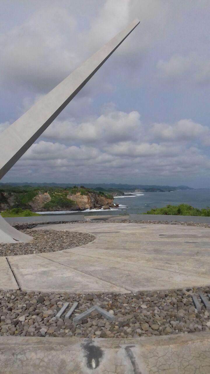 Senja Pantai Parangracuk Wisata Gunungkidul Baron Technopark Jam Matahari Gunung