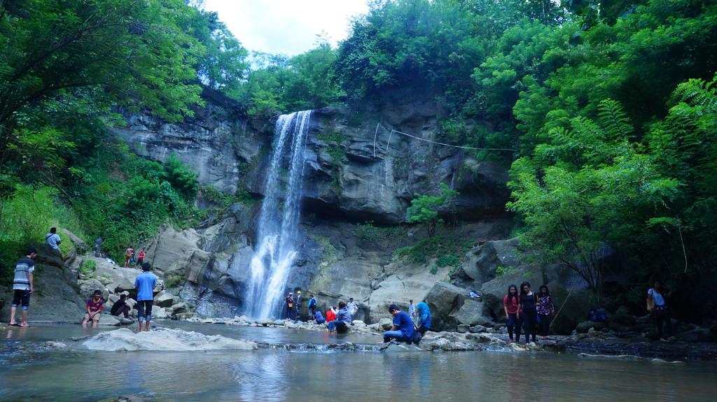 14 Air Terjun Cantik Bisa Ditemui Jogja Yuk Piknik Lokasi