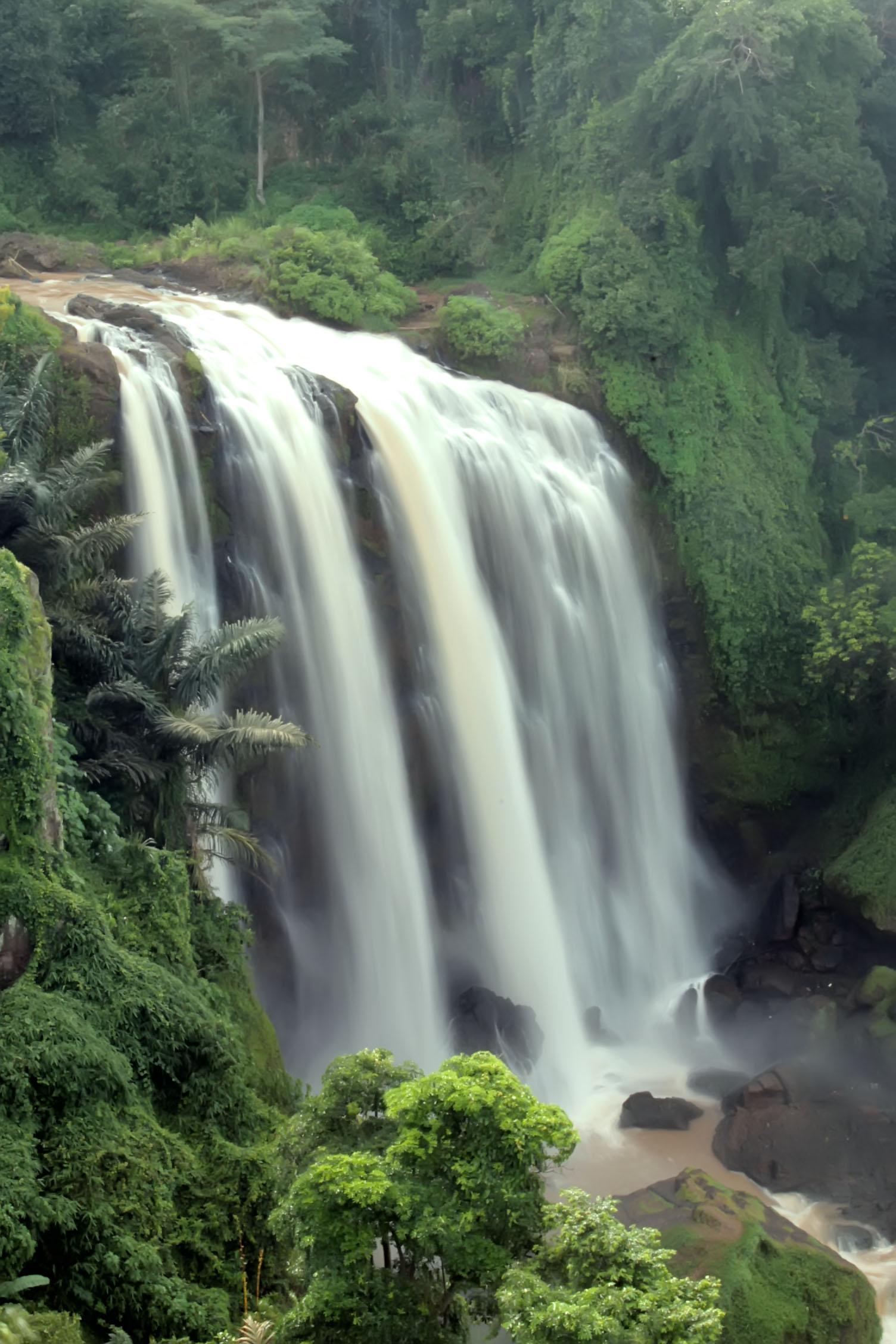 Air Terjun Curug Sewu Bayat Kab Gunungkidul