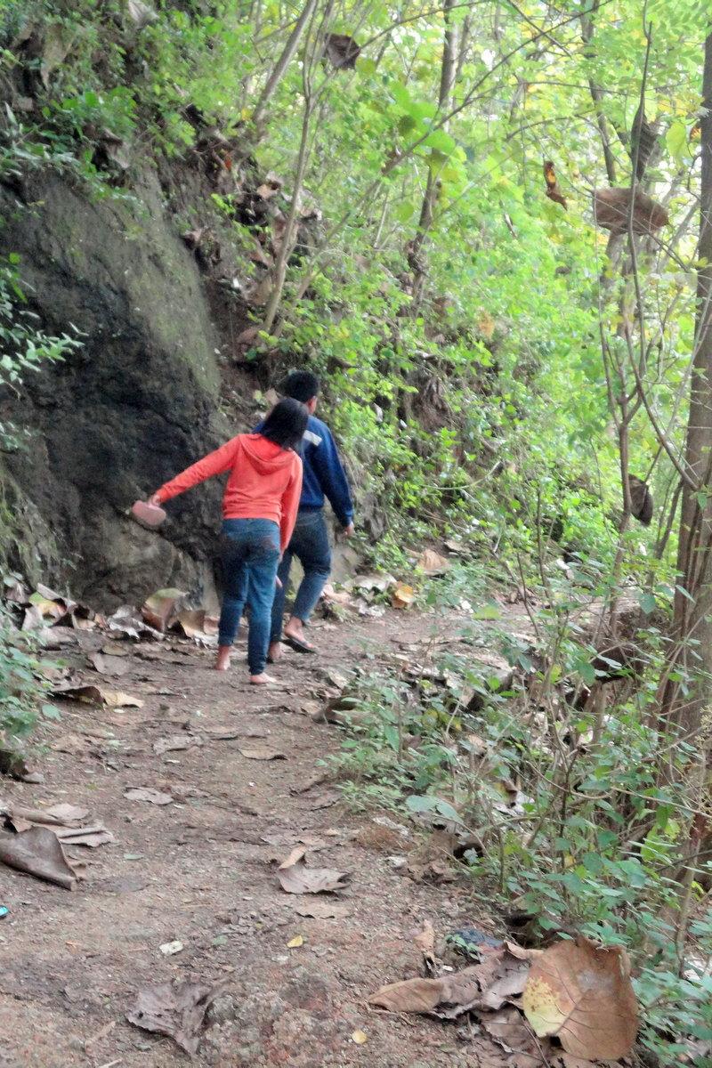 Curug Bayat Air Terjun Bukit Kapur Dwi Jayanti Wulandari Menuju