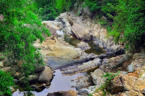 Curug Bayat Klaten Infoku Infokita Kalo Berpergian Disarankan Bawa Temen