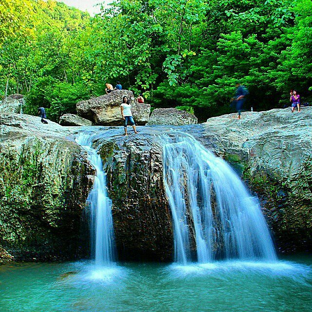Curug Indah Tegalrejo Disebut Bayat Lokasinya Tugu Wisata Kab Gunungkidul