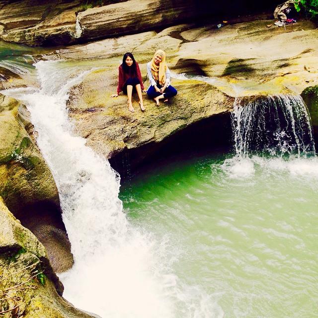 Menikmati Indahnya Curug Luweng Sampang Grand Canyon Versi Yogyakarta Sampang2