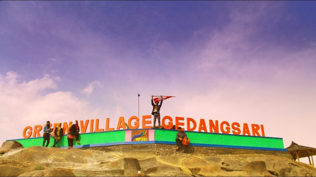 Green Village Gedangsari Keindahan Permadani Hijau Yogyakarta Desa Kab Gunungkidul
