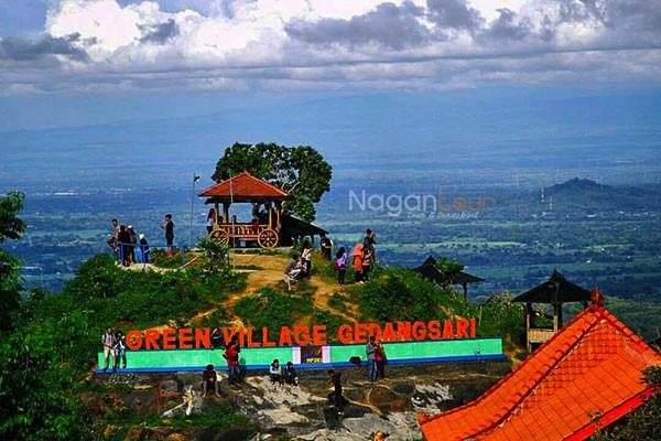 Green Village Gedangsari Punya Flying Fox Terpanjang Se Asean Wisata