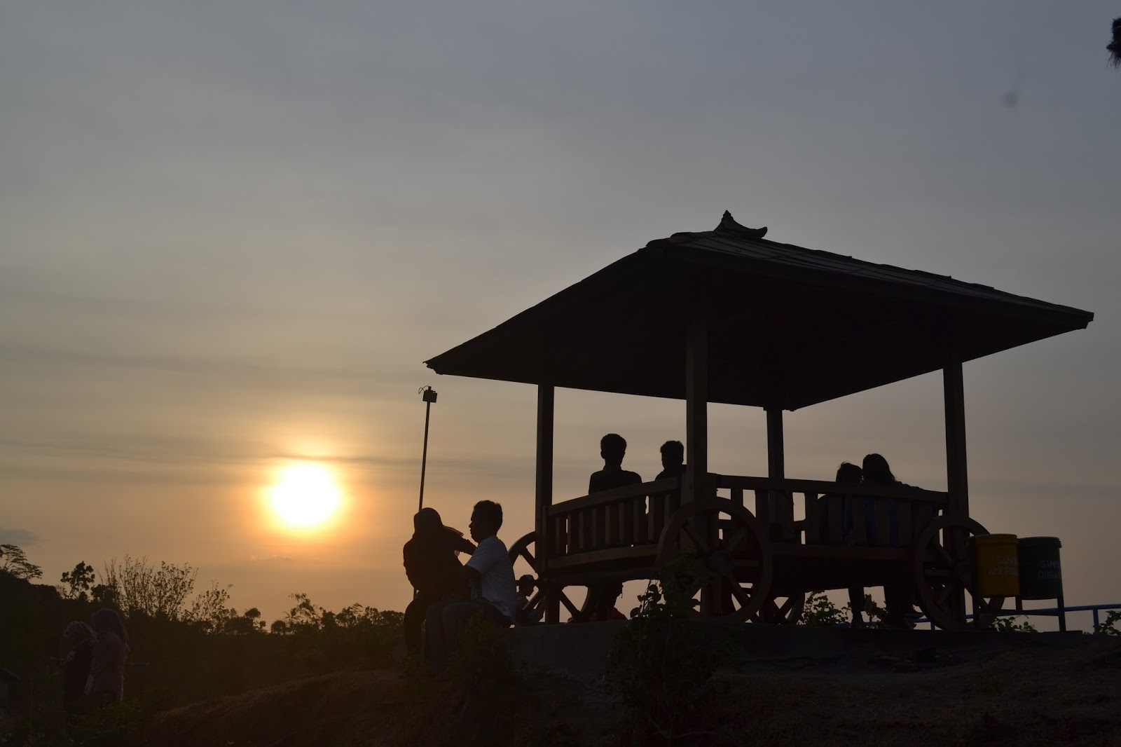 Green Village Gedangsari Tempat Wisata Jogja Cocok Berburu Sunset Malam
