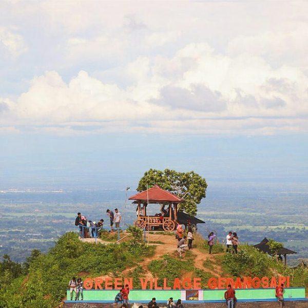 Green Village Gedangsari Yogyakarta Alamat Menawarkan Hamparan Bukit Hijau Pemandangan