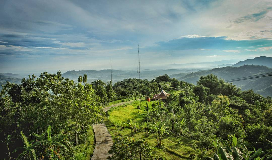 Green Village Gunungkidul Pesona Permadani Hijau Yogyakarta Keindahan Greenvilage Gedangsari