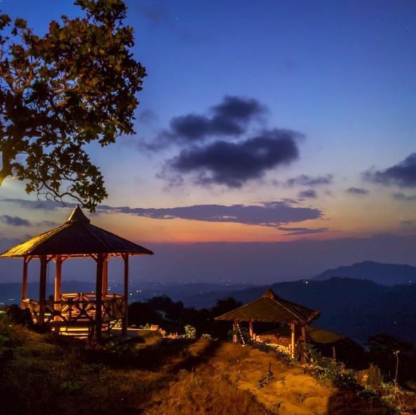 Matahari Tenggelam Green Village Gedangsari Gunung Kidul Desa Hijau Kab