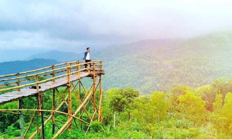 Menikmati Senja Green Village Gedangsari Gunung Kidul Eksotis Jogja Spot