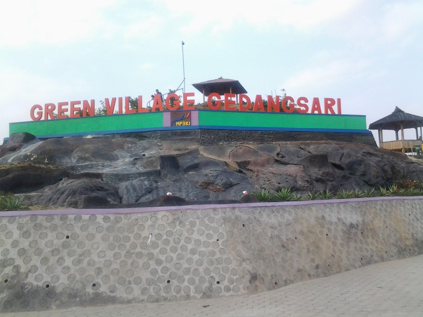 Obyek Wisata Green Village Gedangsari Pesona Pemandangan Hijau Puncak Bukit