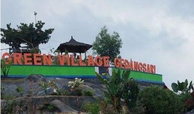 Puncak Green Village Gedangsari Rental Mobil Jogja Desa Hijau Kab