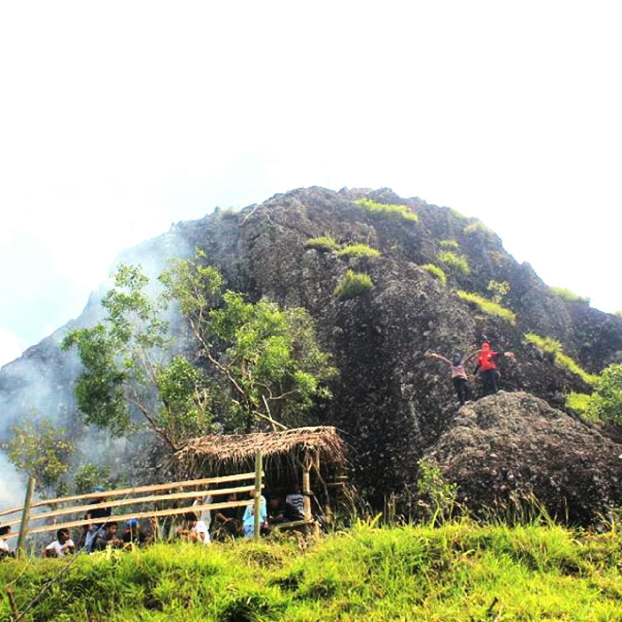Rute Jalan Peta Lokasi Menuju Gunung Gentong Gedangsari Gunungkidul Desa