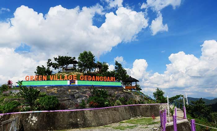 Terdampar Tengah Hamparan Hijau Green Village Gedangsari Desa Kab Gunungkidul