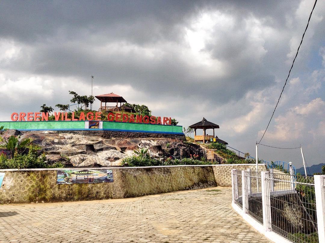 Wisata Green Village Gedangsari Gunung Kidul Yogyakarta Dolan Gambar Desa