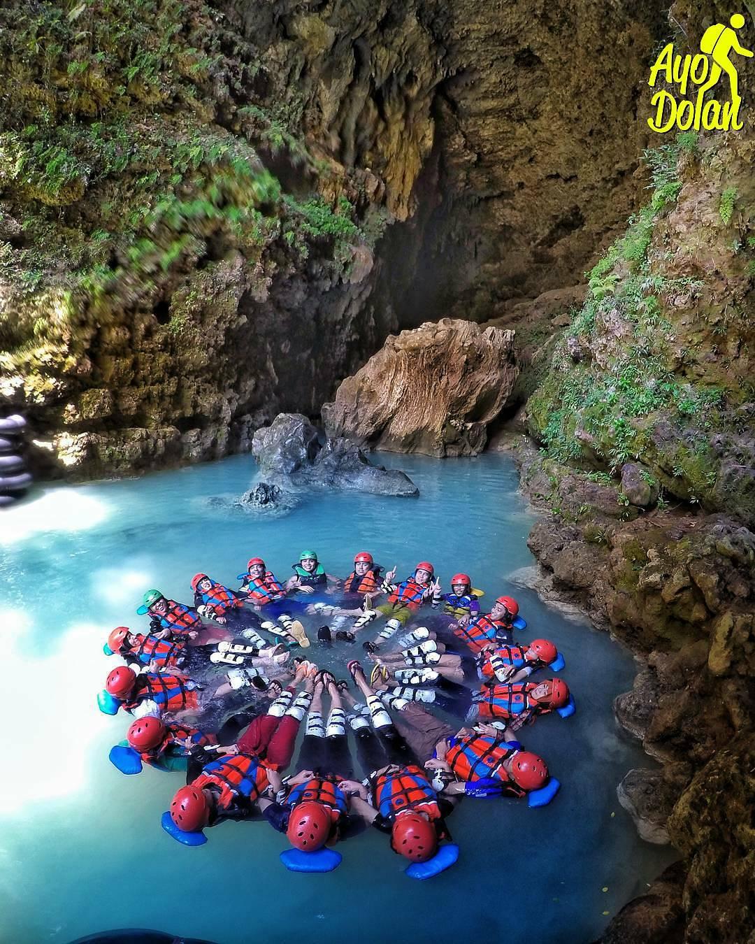 100 Wisata Jogja Gunungkidul Inikah Kamu Cari Cave Tubing Kalisuci