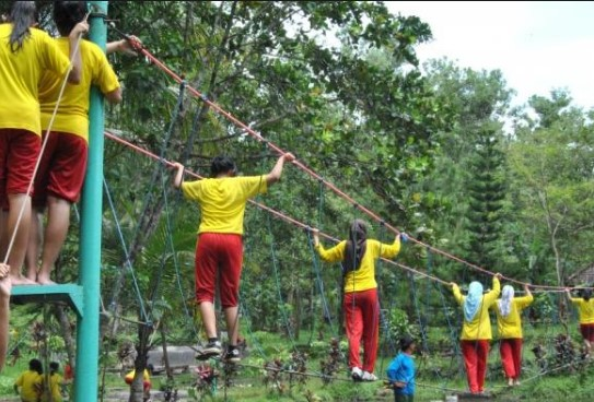 Berpetualang Tegalarum Adventure Park Destinasi Wisata Nusantara Wahana Ditawarkan Seru