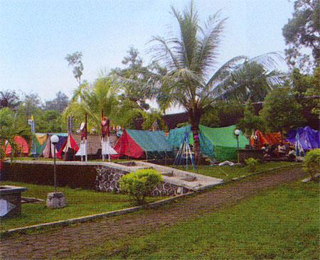 Lokasi Tempat Camping Outbound Gunungkidul Kedai Susu 01 Outbond Tegalarum