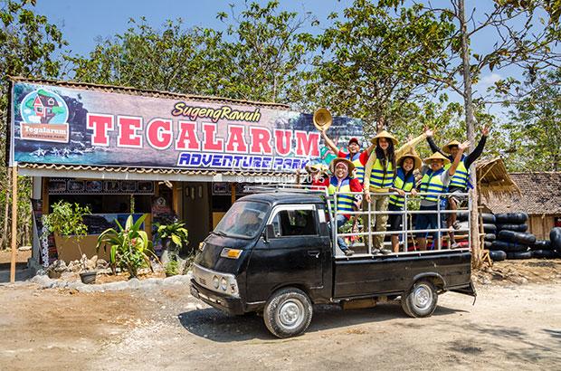 Outbound Tegalarum Wonosari Jogja Wisata Adventure Park Kab Gunungkidul