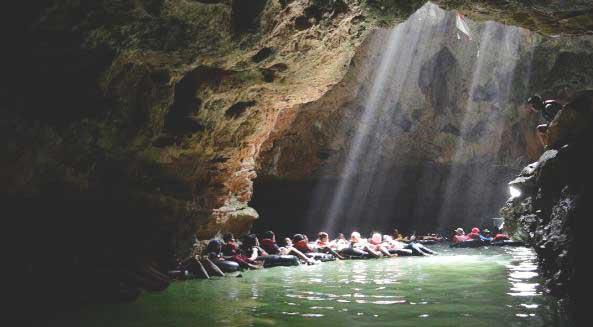 Wisata Gunungkidul Cocok Outbound Asik Seru Gua Pindul Tegalarum Adventure