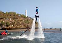 Wisata Petualangan Seru Tegalarum Adventure Park Gunungkidul Flyboard Wahana Pantai