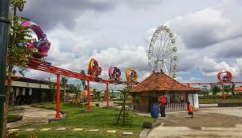 Wisata Seru Tegalarum Adventure Park Yogyakarta Balijogja Wahana Sindu Kusuma