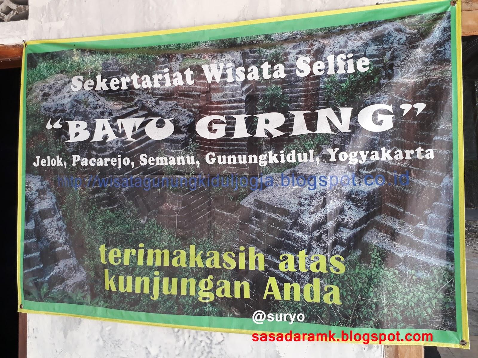 Sasadara Manjer Kawuryan Situs Dengok Semanu Gunungkidul Yogyakarta Batu Giring