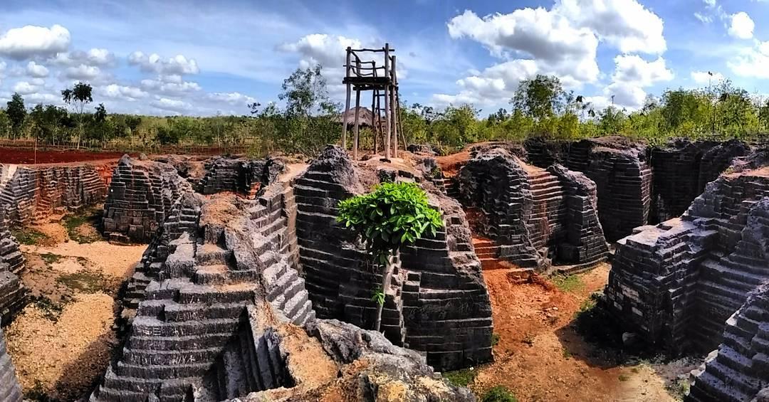 Tiket Masuk Lokasi Rute Watu Giring Semanu Gunungkidul Wisata Kab