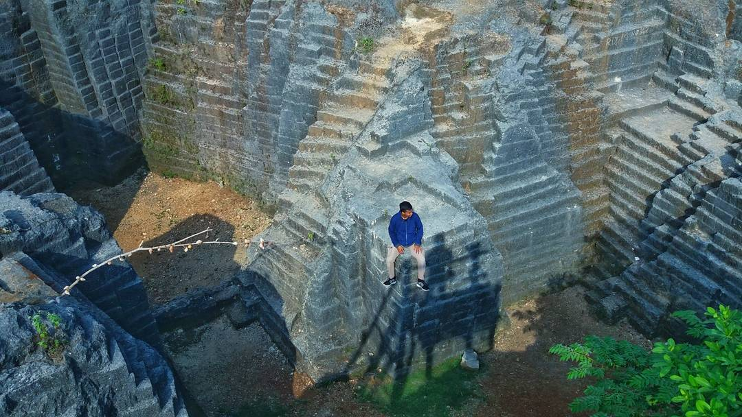 Tiket Masuk Lokasi Rute Watu Giring Semanu Gunungkidul Wisata Panorama