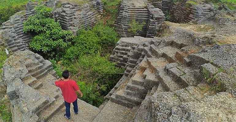 Watu Giring Lokasi Unik Mirip Candi Gunungkidul Jogja Istimewa Share