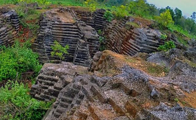 Watu Giring Pesona Tambang Batu Yogyakarta Kab Gunungkidul