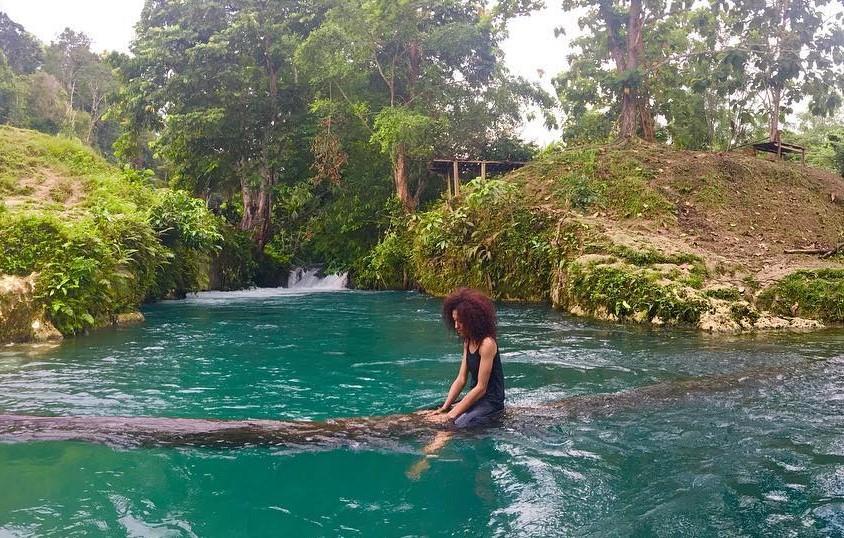 17 Tempat Wisata Jayapura Papua Hits Dikunjungi Biru Genyem Kolam