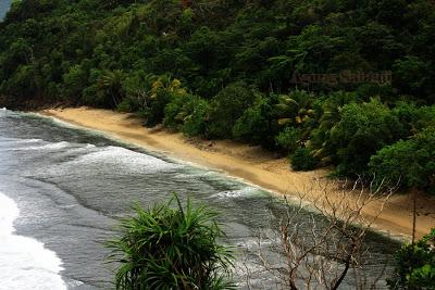 Agung Sabtaji Wisata Pantai Kota Kabupaten Jayapura Lihat Foto2 Pasir