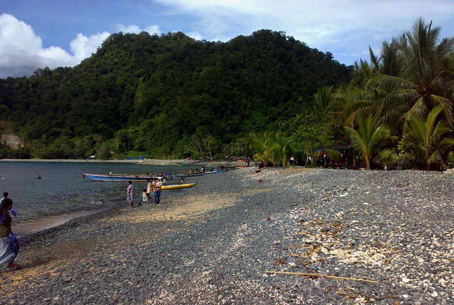 Pantai Tablanusu Keindahan Alam Papua Base Kab Jayapura