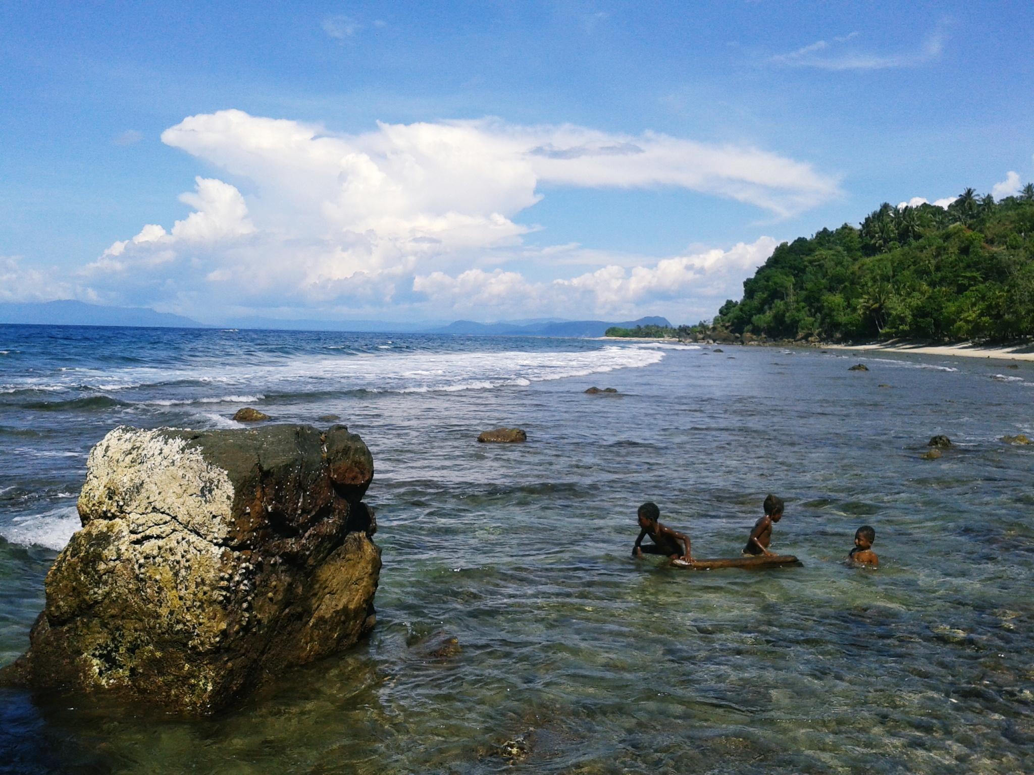 Papua Journey Pantai Pasir Ii Base Jayapura Kab